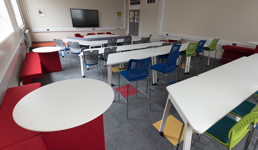 Picture of pilot classroom