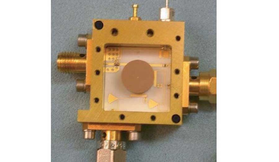 Image of a dielectric resonator stabilized oscillator