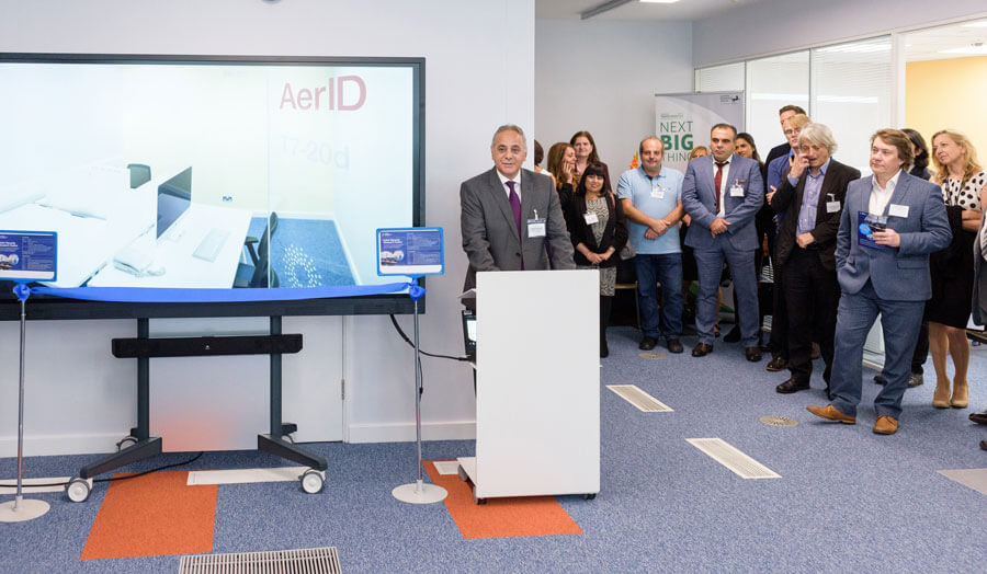Karim Ouazzane at Cyber Security Research Centre Launch