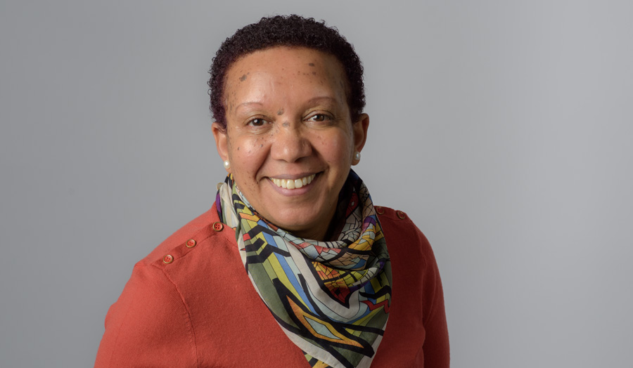 Photo of a female Principal Lecturer in Early Childhood Studies, Berhane Dory