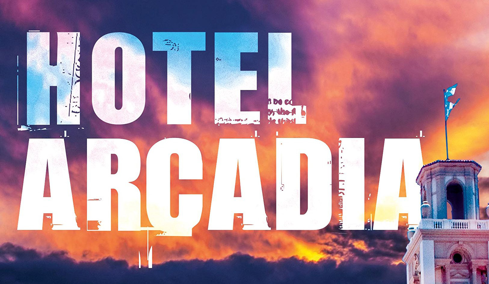 Hotel Arcadia book cover cropped to show title only
