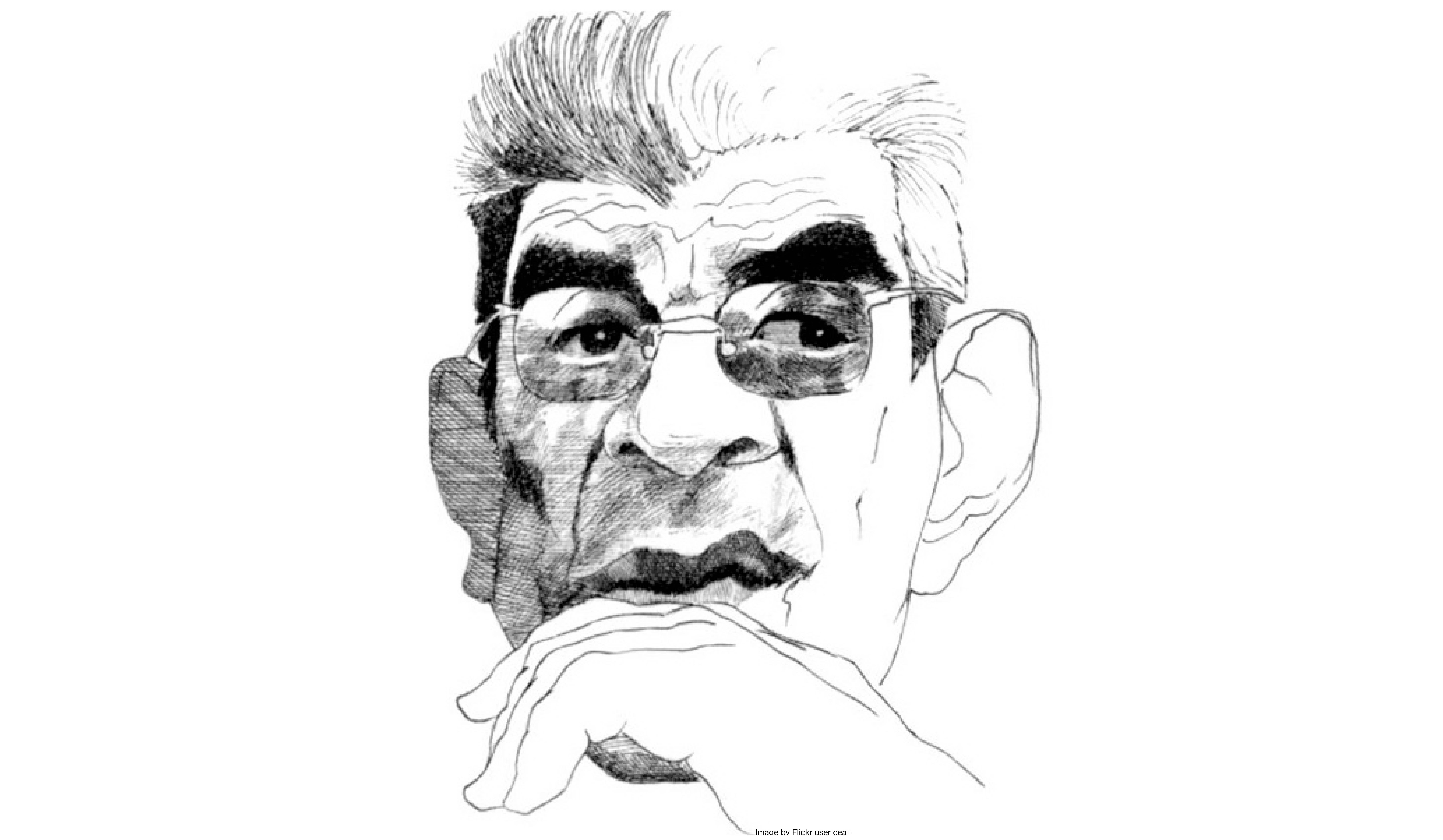 Jacques Lacan drawing (rights free by Flickr user cea+)