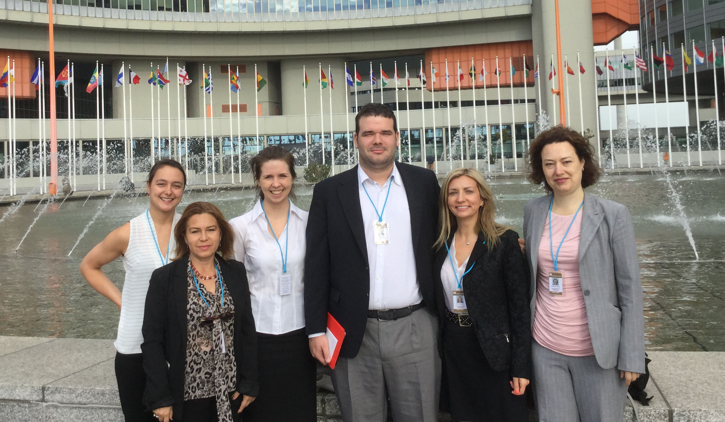 MA students at UN Vienna