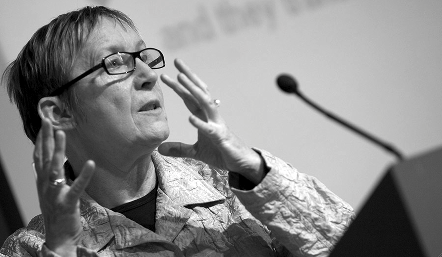 Photograph of female professor Liz Kelly