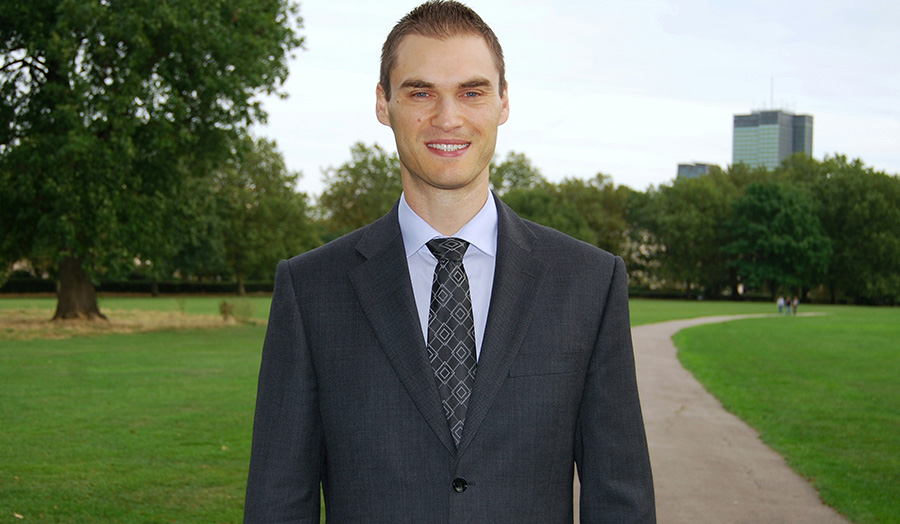 Photograph of Georgi Kolev, Banking and Finance BSc (Hons) student.