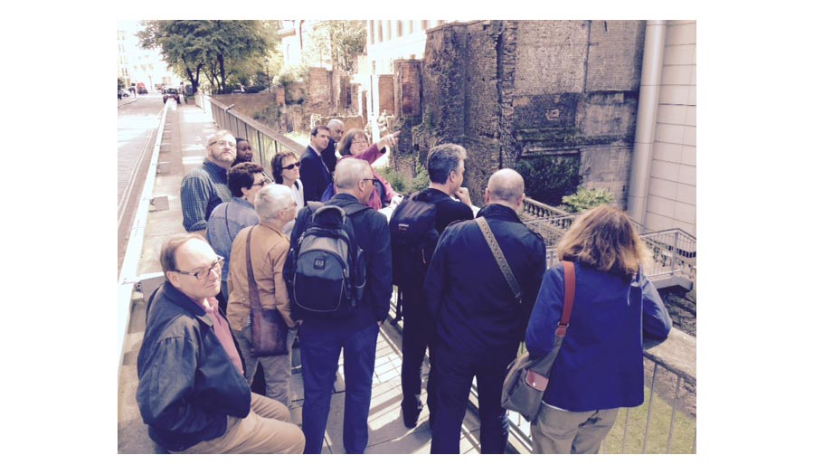 HRM Team on Guided Tour