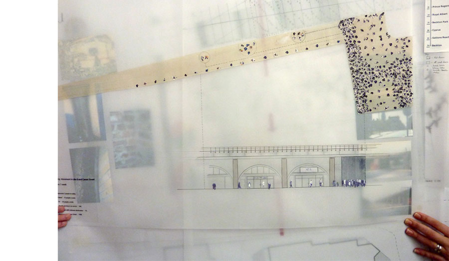 Layered Mapping Of Urban Site