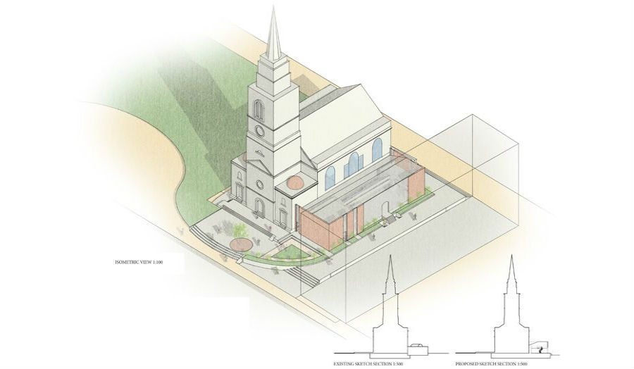 Isometric View and Sketch Section Daniel Stanton