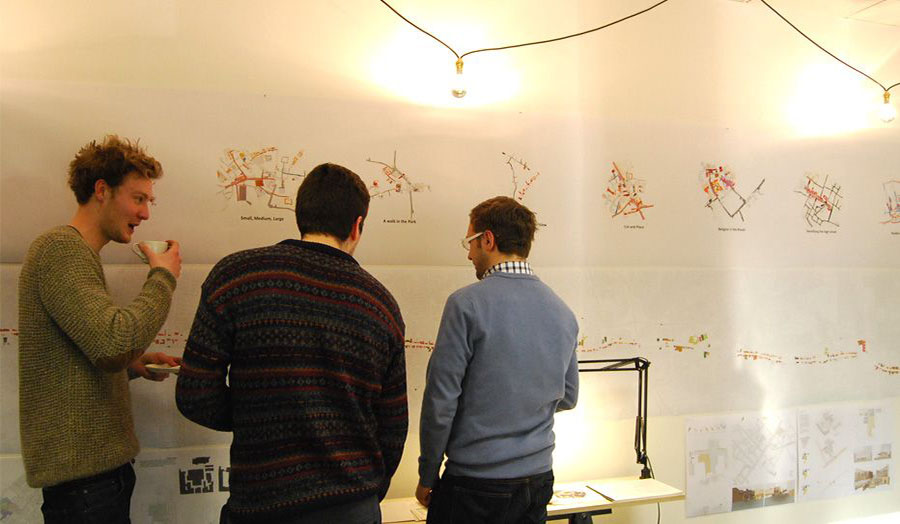 MA Spatial Planning and Urban Design display Aldgate Project
