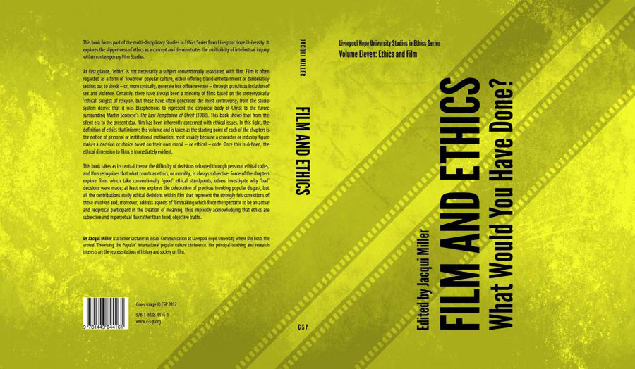 John Keefe Explorations of Ethics in Film Studies