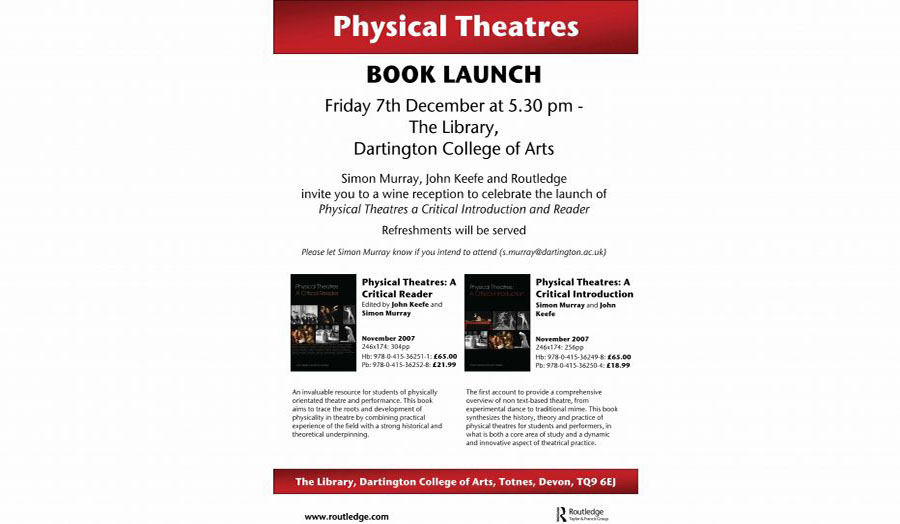 John Keefe Physical Theatres A Critical Introduction
