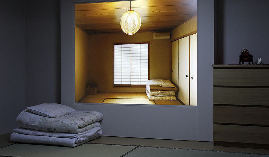 Image: From the exhibition At Home in Japan - Beyond the Minimal House, Geffreye Museum London, 2011