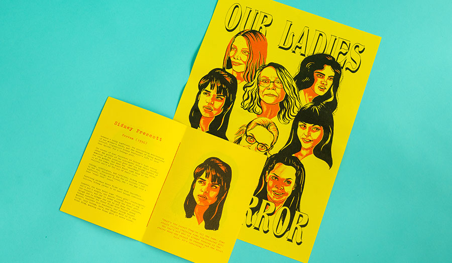Illustrated zine by Shannon Johnson