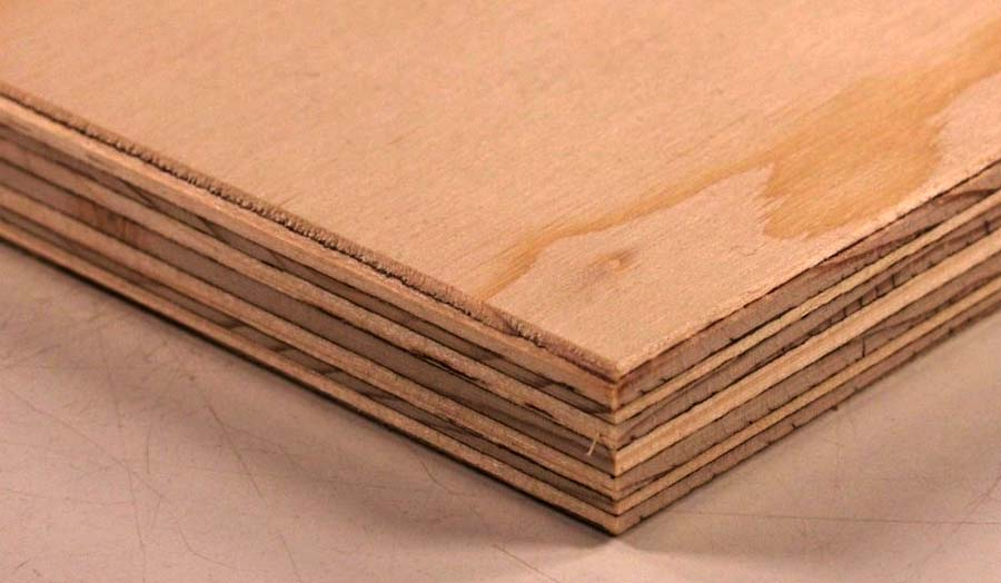 Close-up photo of wood being prepared for cutting.