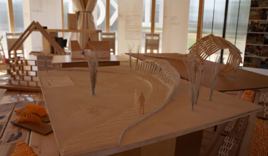 Moscow Architecture School Model View