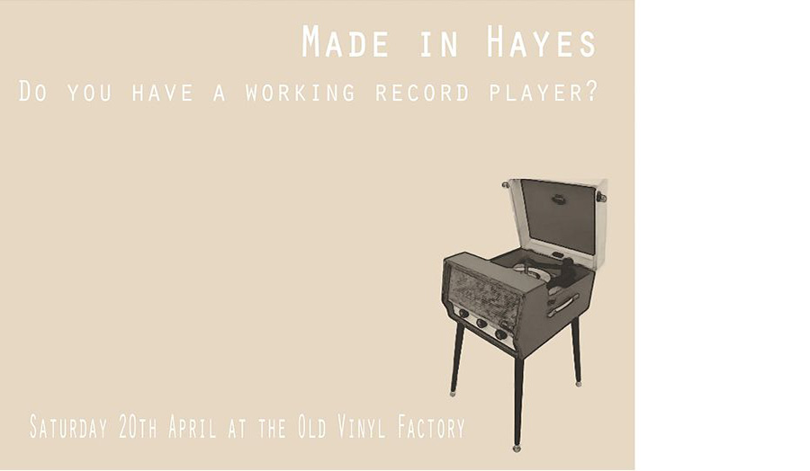 Do you own a working record player
