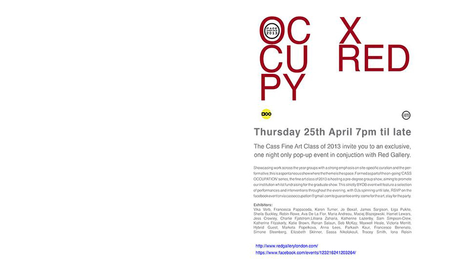 Occupy X Red