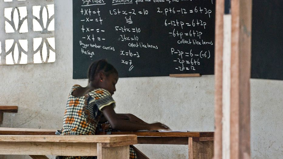 1 classroom in use freetown