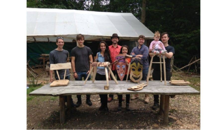 Bodging Workshop - The group