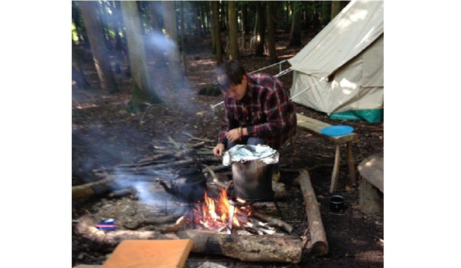 Bodging Workshop - Cooking Alfresco