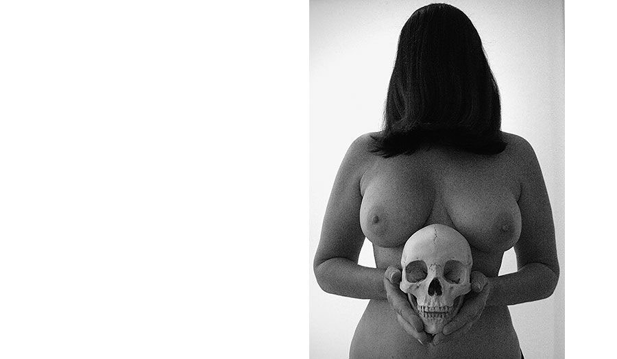 Self-portrait with Skull, 2005 - Marina Abramović