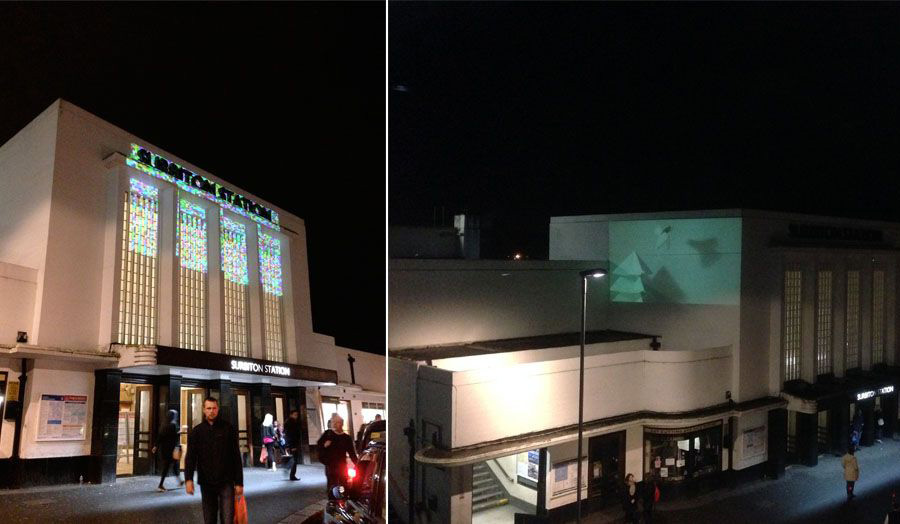 Surbiton Station - Test Projection by Cass Animators