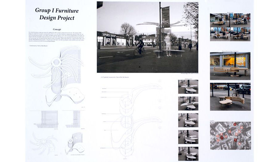 Shortlist for Street Furniture competition announced 10