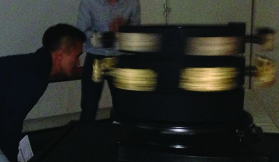 3D Zoetrope at Museum of London