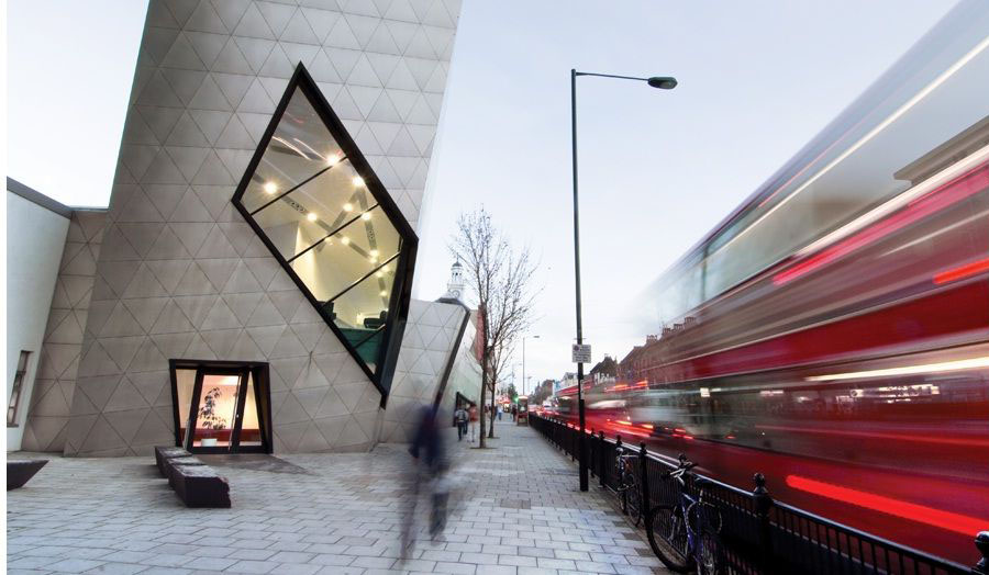 Internationally renowned architect Daniel Libeskind returns to celebrate ten years since the completion of the iconic London Metropolitan University Graduate Centre.
