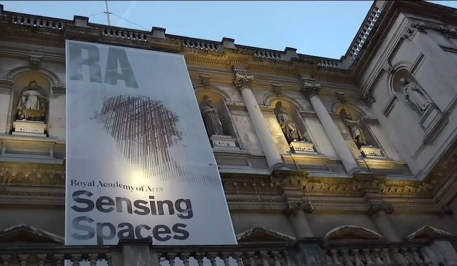 Cass students complete film for the Royal Academy capturing responses of poets and musicians to the Sensing Spaces architecture exhibition.