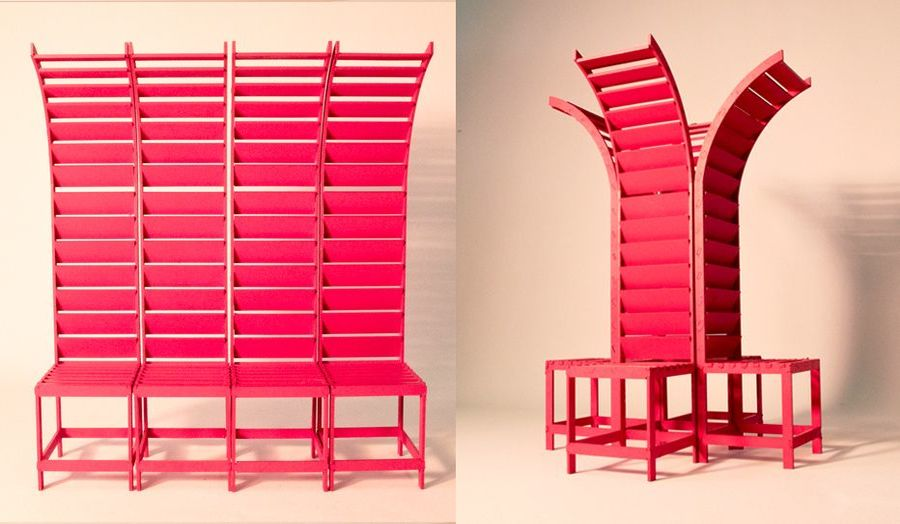 Furniture Design University London aldgate street furniture competition winner announced - london