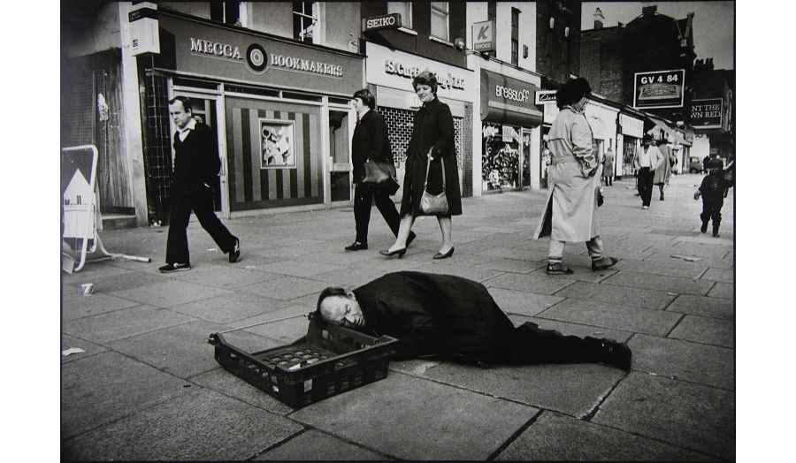 Whitechapel High Street circa 1984 - Don McCullin