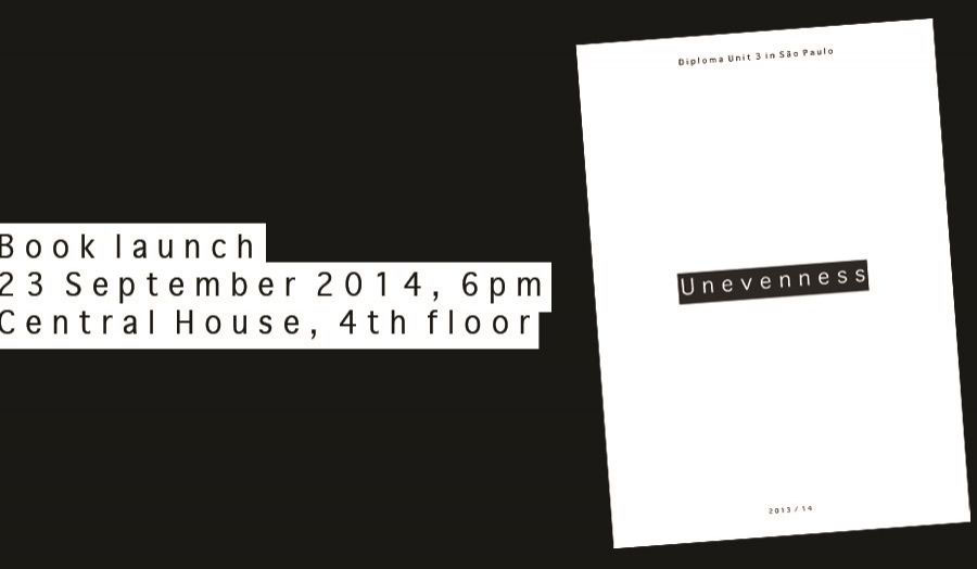 Please join us for the launch of the publication Unevenness at Central House on the 23rd September at 6pm