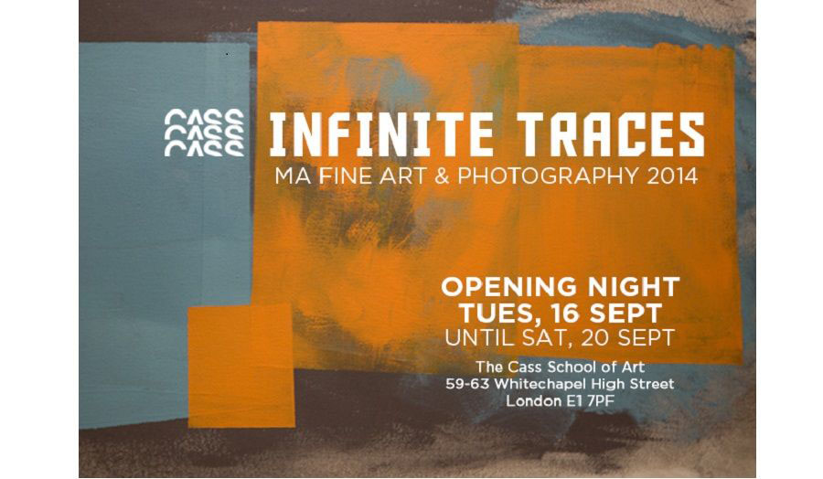 MA Fine Art and MA Photography students at The Cass will showcase their final work at the Cass MA Show in September 2014.