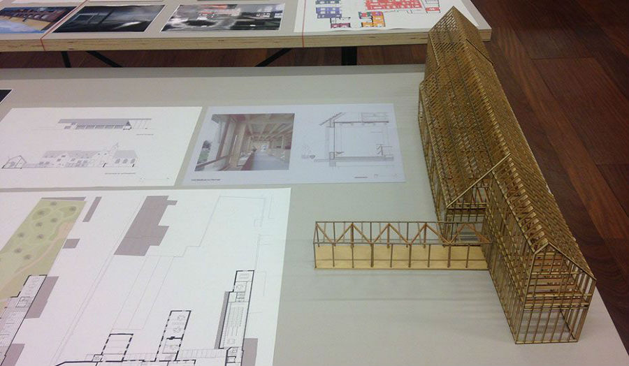 Cass Architecture student invited to exhibit in Antwerp