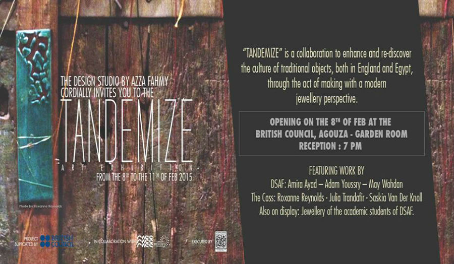TANDEMIZE Invitation to Exhibition