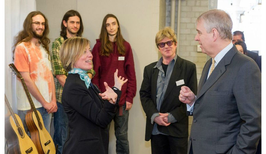 His Royal Highness The Duke of York visits London Met