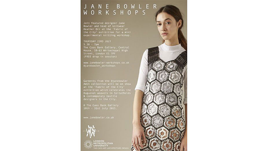 Jane Bowler Workshops poster