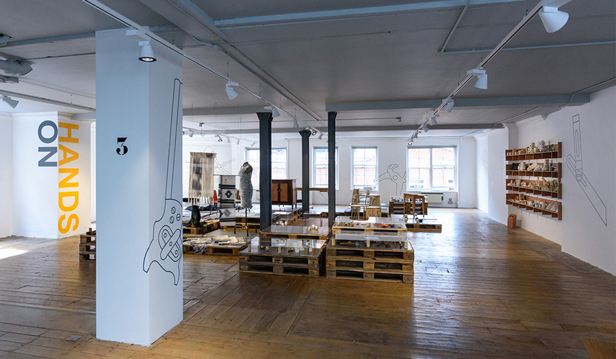 Image of large room where the Hands On Exhibition will take place