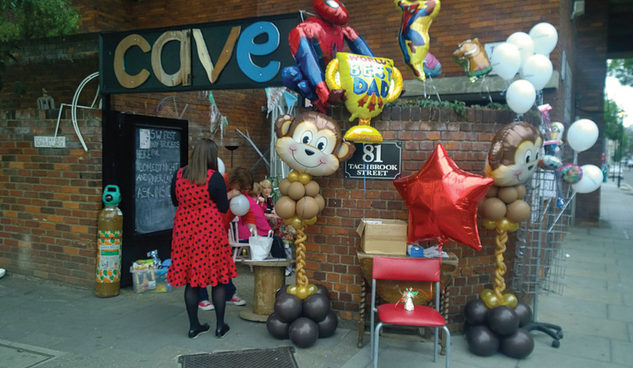 Photo of the outside of Cave in Pimlico