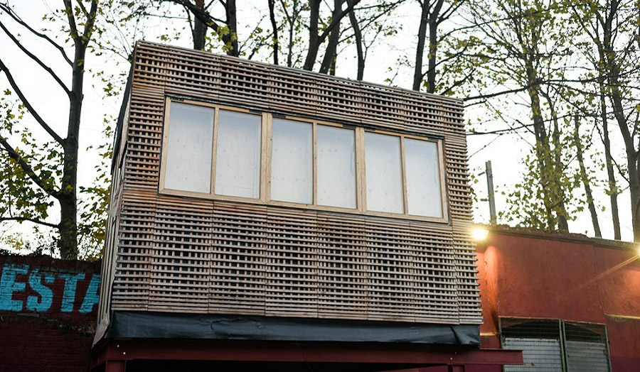 The Grow Pod detached building, designed by Studio Bark