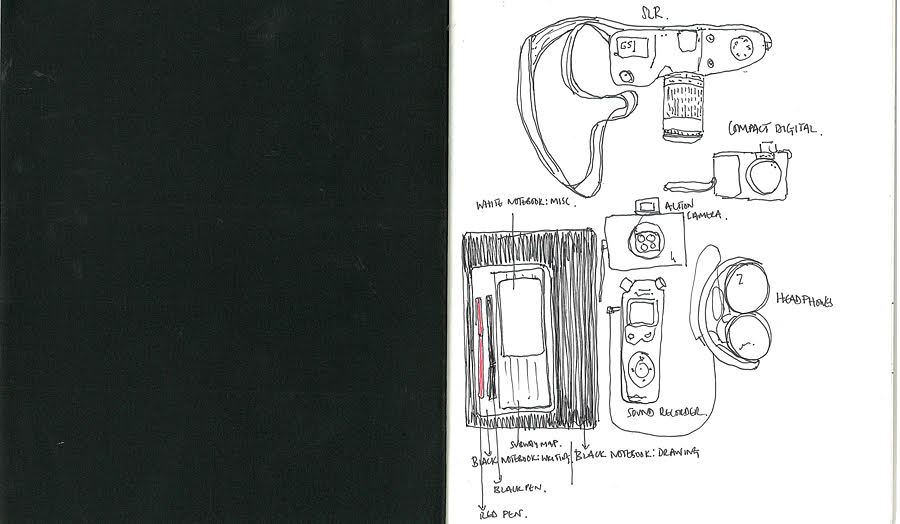 Drawings of audio devices