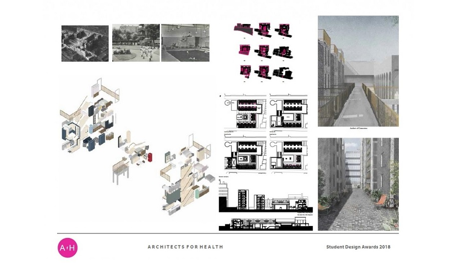 Winning Design Board for Architects for Health Competition