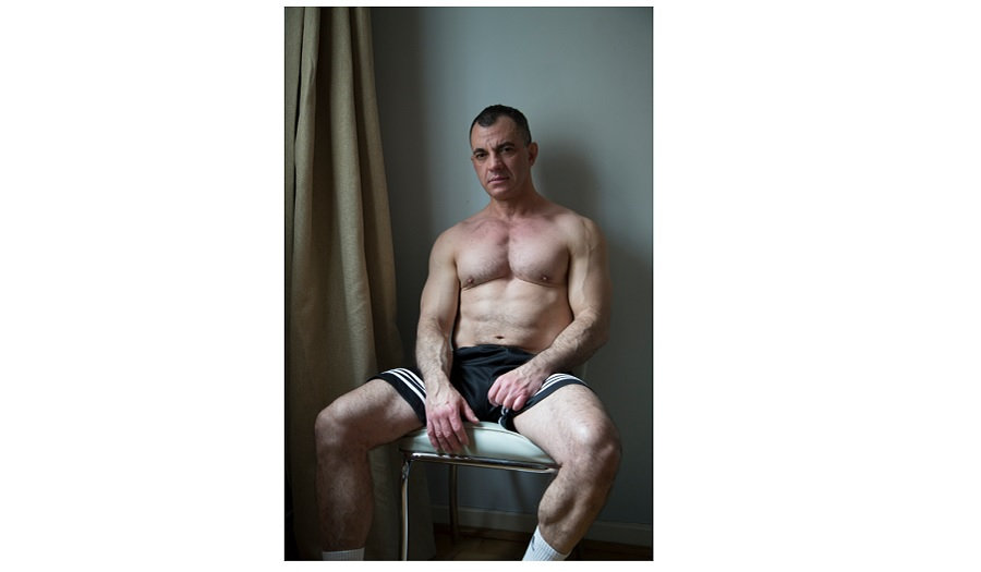 Portrait of sitting man shortlisted for BJP portrait of britain award