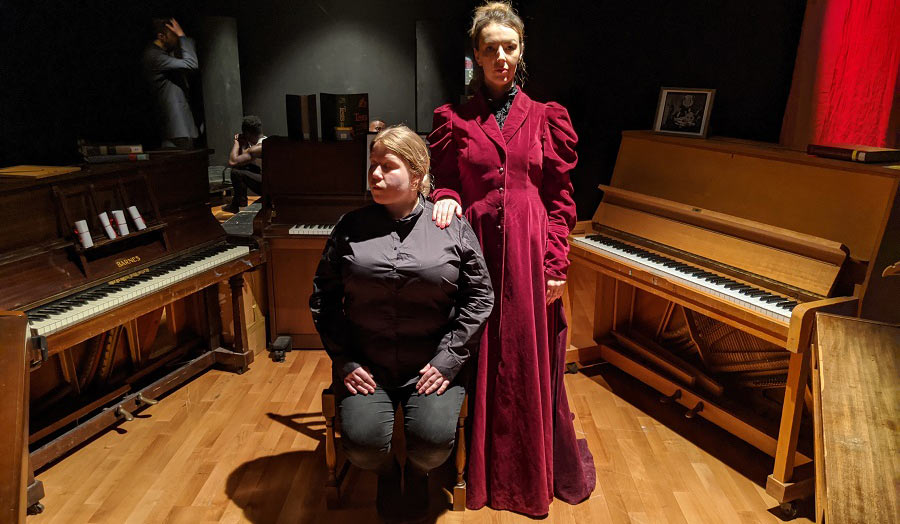 Antonina Kozielska and Carla Williams in The Institute by TailWag Productions