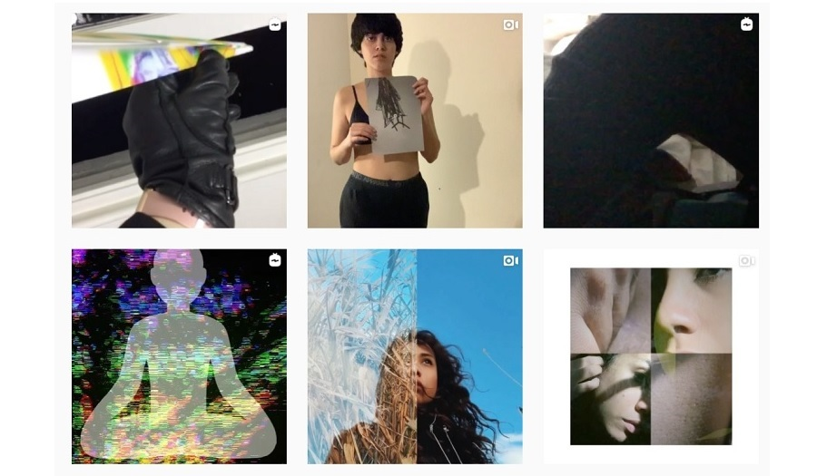 grid of insta images