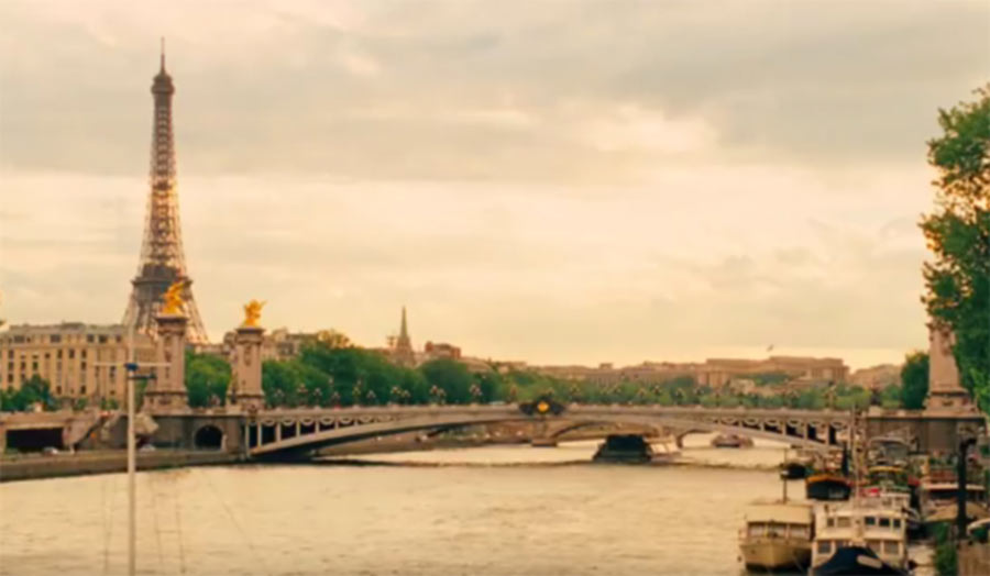 Still from the film Midnight in Paris