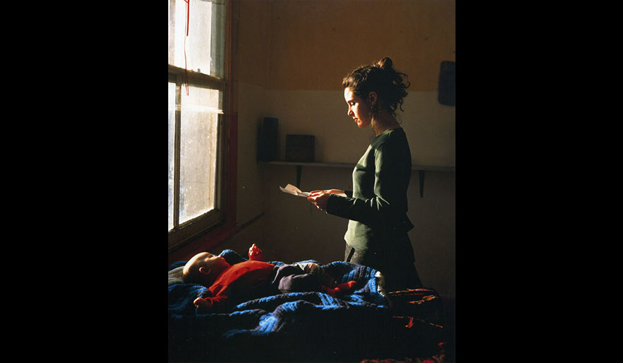 Woman Reading a Possession Order by Tom Hunter