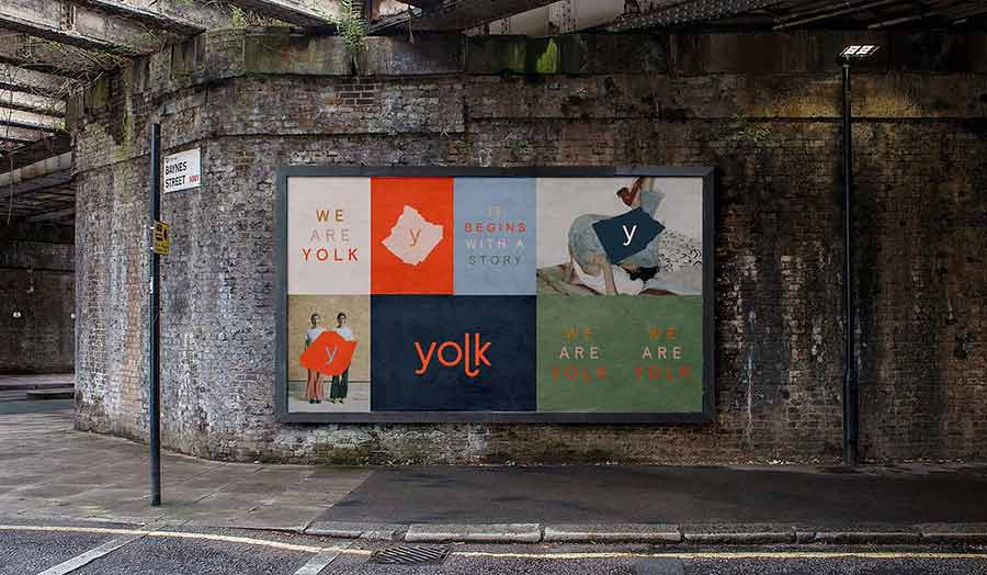 Yolk, Billboard in Shoreditch