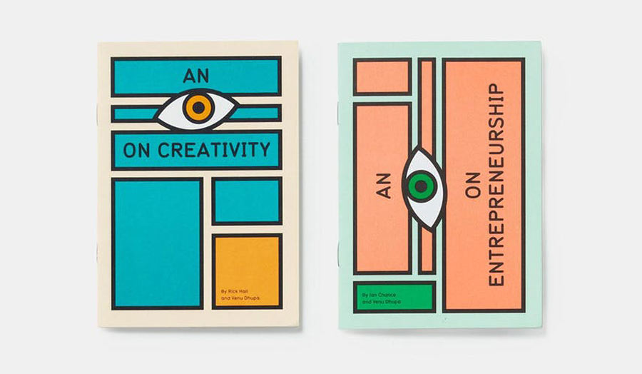 Booklets, an eye on creativity